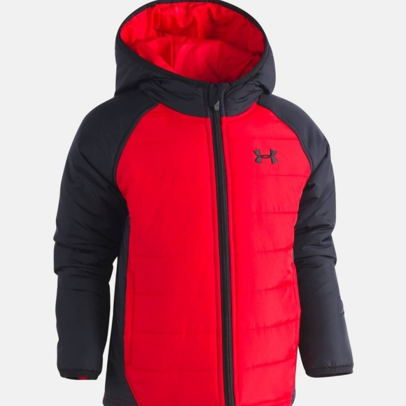 db27a6352538 Little Boys Under Armour Werewolf Puffer Jacket. M 5ae866c53b160899e7c4b95f